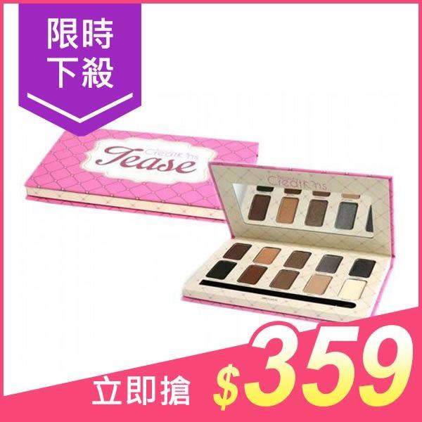 美國 Beauty Creations Tease 10色煙燻棕眼影盤(附刷)14g【小三美日】$399