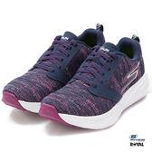 SKECHERS 新竹皇家 GO RUN RIDE 藍紫 織布 輕量 休閒慢跑鞋  女款 NO.I8890