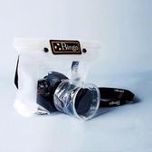 長焦佳能尼康單反相機防水罩防沙套防水袋潛水袋