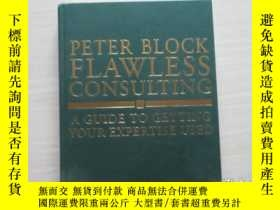 二手書博民逛書店PETER罕見BLOCK FLAWLESS CONSULTING