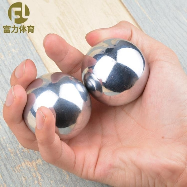 保定鐵球保健球空心健身球手玩實心鋼球手轉球