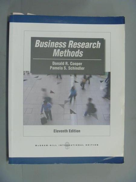 【書寶二手書T9/大學商學_EYI】Business Research Methods_Cooper,etc