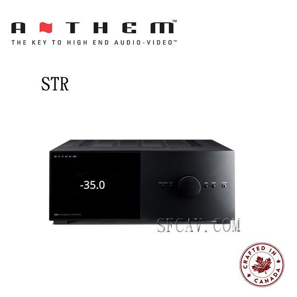 【勝豐群音響新竹】24期零利率  Anthem STR  兩聲道綜合擴大機 黑色