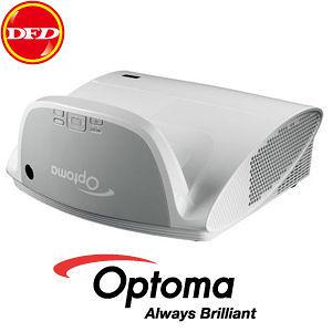 現貨迅速到貨 ♥ Optoma EW675UTi 超短焦投影機 50cm(含機身)可投影65 吋 三年保 3D 送90吋手拉布幕