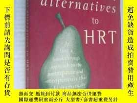 二手書博民逛書店Natural罕見alternatives to HRT(激素替
