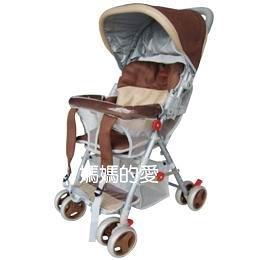 [ 台中水族 ]Mother's Love-KC510A全罩三明治透氣網布揹架手推車 - 咖啡色 促銷價