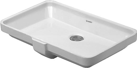 【麗室衛浴】德國 DURAVIT 2nd FLOOR系列 下崁盆 031653 555x380x115mm