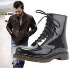 雨鞋男防滑雨鞋男士短筒低筒馬丁雨靴水靴防水鞋男雨鞋 免運