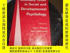 二手書博民逛書店BOUNDARY罕見AREAS IN SOCIAL AND DEVELOPMENTAL PSYCHOLOGYY