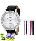 [美國直購] 女錶 XOXO Women s XO9068 Analog-Display Quartz Watch with Interchangeable Bands