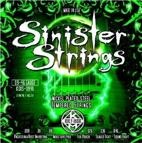 ☆ 唐尼樂器︵☆ Kerly Strings Sinister 系列冰火弦 KQXS-0946 (09-46) 美製電吉他弦