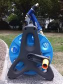 高壓洗車水槍家用套裝全銅刷車水槍頭水管收納車架洗車器澆花工具YYS     易家樂