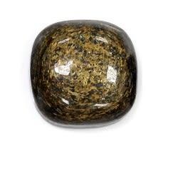 [協貿國際]天然琥晶石正方形戒面DIY手工飾品配件(5入價)