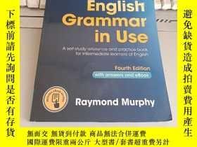 二手書博民逛書店English罕見Grammar in Use Book with Answers and Interactive