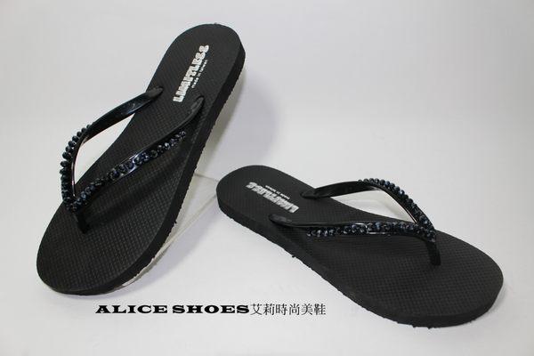 ALICE SHOES艾莉易購網 女版 夾腳拖/防水平底拖鞋@1103@MIT台灣製造 800免運費
