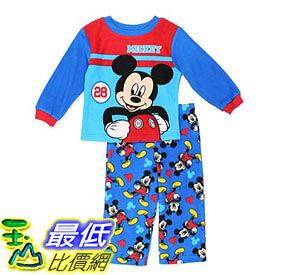 [7美國直購] 迪士尼 睡衣套裝 Disney Boys Mickey 2-Piece Fleece Pajama Set 2T