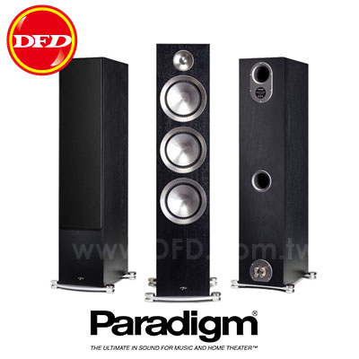 (新品預購) 加拿大 Paradigm PRESTIGE 85F 黑胡桃 Black Walnut 落地型劇院喇叭 公司貨