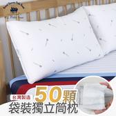 台灣製造 超回彈袋裝獨立筒抗菌枕/單顆