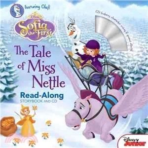 【麥克書店】SOFIA THE FIRST:THE TALE OF MISS NETTLE /英文繪本附CD ‧聽迪士尼說故事