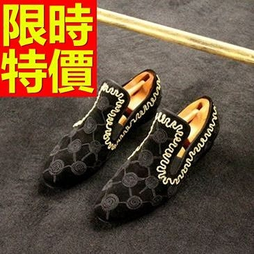男皮鞋-時尚輕便休閒懶人男樂福鞋1色59p12[巴黎精品]