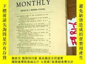 二手書博民逛書店SCIENTIFIC罕見MONTHLY 科學月刊1933年2月