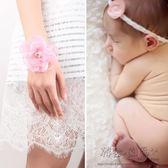 618好康又一發伴娘手環花幼兒園表演手腕花環寶寶