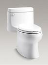 【麗室衛浴】美國 KOHLER活動促銷  Cimarron單體馬桶 K-5697T-C-0  五級旋風沖水力超強 附緩降馬桶蓋