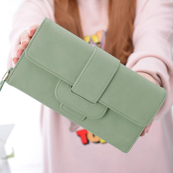 皮夾 -現貨販售-新款優質多卡位長夾手拿包  8M298 女包包