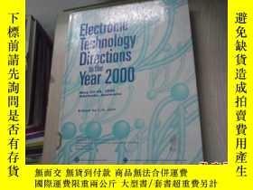 二手書博民逛書店Electronic罕見Technology Direction
