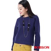 BOBSON 女款搭配蕾絲布上衣(35075-57)