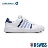 K-SWISS Pershing Court Light WP防水時尚運動鞋-男-白/藍