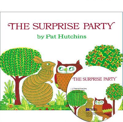 【麥克書店】THE SURPRISE PARTY  /平裝繪本+CD《主題:句型》
