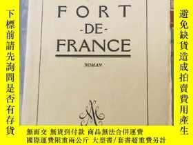 二手書博民逛書店法文原版書:1933年罕見法國堡壘fort de franceY254595 出版1933