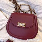 新款女包新加坡小 ck馬鞍包親子小豬包珍珠子母包限量包包 時尚芭莎
