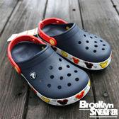 Crocs  深藍 米奇 底部閃燈 涼鞋 童鞋 (布魯克林) 2017/11月 204994410