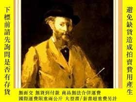 二手書博民逛書店Edouard罕見Manet, Rebel in a Frock