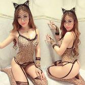 情趣內衣性感情趣內衣服女豹紋制服誘惑兔女郎貓女小胸套裝激情用品透視騷-大小姐韓風館