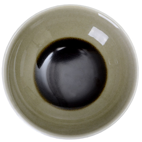 【Luzerne】陸升瓷器 Oyster 14.5cm 湯碗 238ml(A)-綠色 /OT6120014