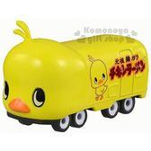 〔小禮堂〕日清小雞 TOMICA小汽車《黃.#151》公仔.玩具.模型 4904810-46637