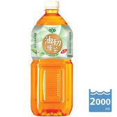 悅氏 油切綠茶 2000ml 8瓶*10箱
