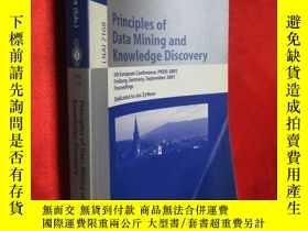 二手書博民逛書店Principles罕見of Data Mining and K