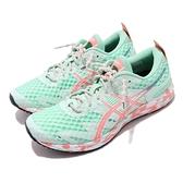 Asics 慢跑鞋 Gel-Noosa Tri 12 綠 粉紅 女鞋 三鐵鞋 運動鞋 【ACS】 1012A578300