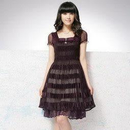 夏裝新款女裝熱賣 時尚修身高貴氣質短袖連衣裙