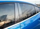 福特 19年後 FOCUS MK4 不銹鋼 BC柱 6片組 卡夢色 保護框 車窗保護條 汽車車窗電鍍條 保護貼