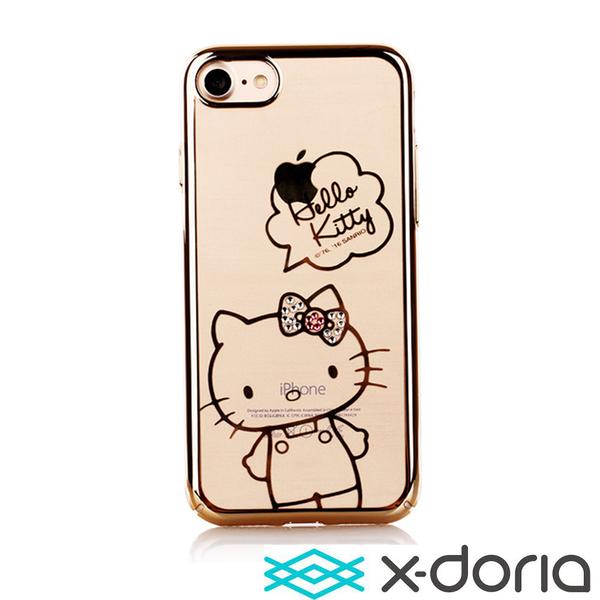 X-doria iPhone SE2/7/8 (4.7吋)晶鑽凱蒂系列手機硬殼