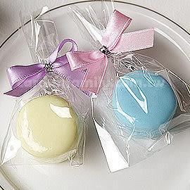 婚禮小物 精巧單包裝馬卡龍香皂-迎賓送客禮/二次進場/抽獎/來店禮 幸福朵朵