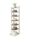 簡易鞋架子鐵藝多層家用室內好看經濟型省空間窄小門口收納小鞋柜