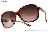 Anna Sui 太陽眼鏡 AS1022-1 C107 (流線棕) 浪漫少女簡約蝴蝶款 # 金橘眼鏡