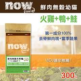 【毛麻吉寵物舖】Now! 鮮肉無穀天然糧 幼貓配方-300克-WDJ推薦 貓糧/貓飼料