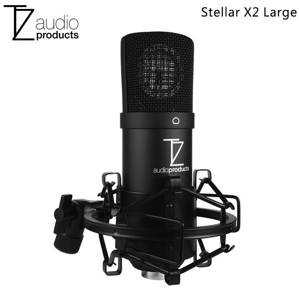 【聖影數位】TechZone Stellar X2 XLR 大振膜電容式麥克風 直播 人聲 公司貨